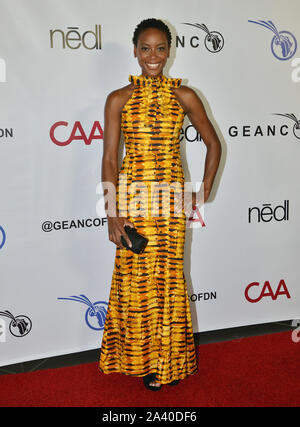 Los Angeles, USA. 10th Oct, 2019. Tracy Ifeachor attends the GEANCO Foundation Hollywood Gala at SLS Hotel on October 10, 2019 in Beverly Hills, California Credit: Tsuni/USA/Alamy Live News - Stock Photo