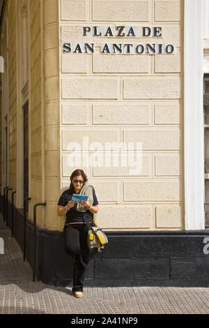 Ciudad de Cadiz. Andalucia. España - Stock Photo