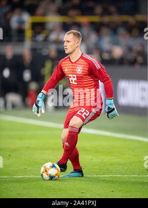 Goalkeeper Marc-Andre TER STEGEN (GER) Promotion, Football Laenderspiel, Friendly Match, Germany (GER) - Argentina (ARG) 2: 2, on 09/10/2019 in Dortmund / Germany. ¬ | usage worldwide - Stock Photo
