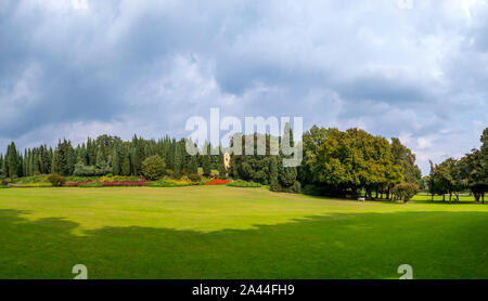 Park and Garden Sigurtá in Valeggio sul Mincio, Veneto, Italy - Stock Photo