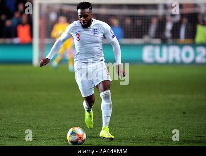 Prague, Czech Republic. 12th Oct, 2019. DANY ROSE of England during the UEFA EURO 2020 qualifier soccer match between Czech Republic and England at Sinobo Stadium in Prague, on October 11, 2019. Credit: Slavek Ruta/ZUMA Wire/Alamy Live News - Stock Photo