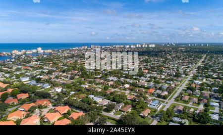 Vanderbilt Beach Naples Park area of Southwest Florida on the Gulf Coast near Fort Myers and Marco Island - Stock Photo