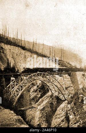 Barnes Railway Bridge, a Truss arch bridge in Barnes SW ...