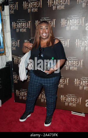 Seen arriving on the red carpet for Heartbeat of Home press night, at Piccadilly Theatre. London 11.09.19 Featuring: Chizzy Akudolu Where: London, United Kingdom When: 11 Sep 2019 Credit: WENN.com - Stock Photo