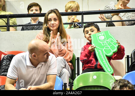London, UK. 13th Oct, 2019. British Basketball All-Stars Championship at Copper Box Arena, London on Sunday, October 13. Credit: Picture Capital/Alamy Live News - Stock Photo
