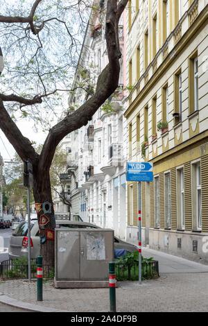 Landstrasse District In Vienna, Austria - Stock Photo