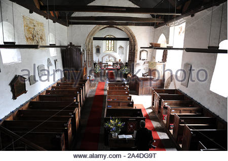 St Clydog's Church in Herefordshire - Stock Photo