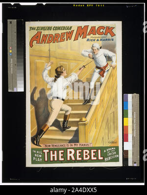 The singing comedian, Andrew Mack in his new play, The rebel a drama of the Irish rebellion: by James B. Fagen. - Stock Photo