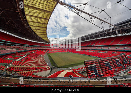 Wembley stadium is a football stadium in Wembley, London, which opened in 2007.