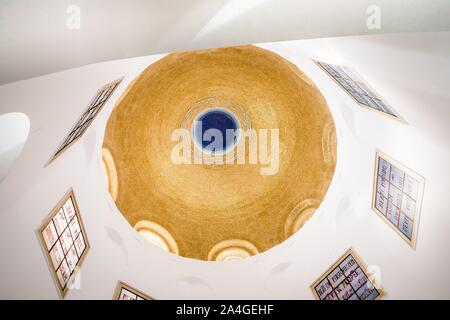 Tabgha, Israel. The Church of the Beatitudes, details, fragment - Stock Photo