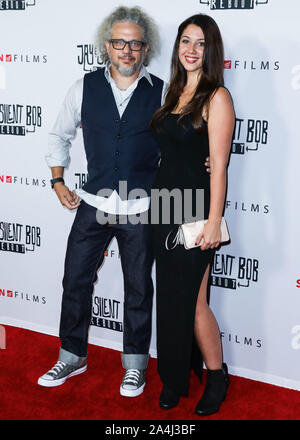 HOLLYWOOD, LOS ANGELES, CALIFORNIA, USA - OCTOBER 14: Joseph D. Reitman arrives at the Los Angeles Premiere Of Saban Films' 'Jay and Silent Bob Reboot' held at the TCL Chinese Theatre IMAX on October 14, 2019 in Hollywood, Los Angeles, California, United States. (Photo by David Acosta/Image Press Agency) - Stock Photo