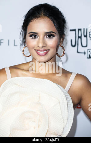 Hollywood, United States. 14th Oct, 2019. HOLLYWOOD, LOS ANGELES, CALIFORNIA, USA - OCTOBER 14: Actress Aparna Brielle arrives at the Los Angeles Premiere Of Saban Films' 'Jay and Silent Bob Reboot' held at the TCL Chinese Theatre IMAX on October 14, 2019 in Hollywood, Los Angeles, California, United States. (Photo by David Acosta/Image Press Agency) Credit: Image Press Agency/Alamy Live News - Stock Photo