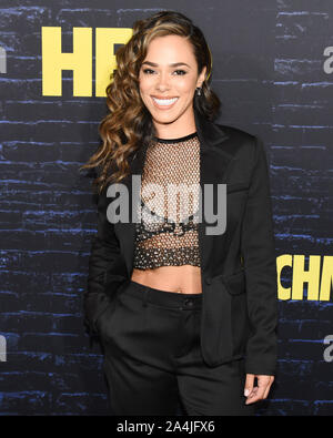 October 14, 2019, Hollywood, California, USA: Jessica Camacho attends the HBO Series Premiere of the Watchmen. (Credit Image: © Billy Bennight/ZUMA Wire) - Stock Photo