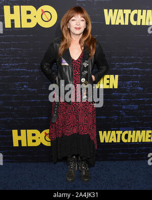 October 14, 2019, Hollywood, California, USA: Frances Fisher attends the HBO Series Premiere of the Watchmen. (Credit Image: © Billy Bennight/ZUMA Wire) - Stock Photo