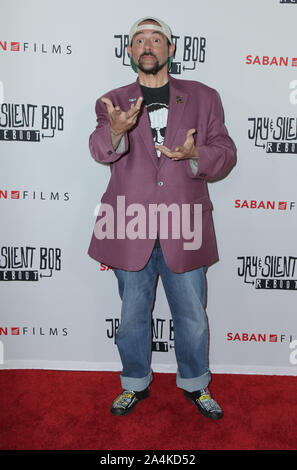 October 14, 2019, USA: 14 October 2019 - Hollywood, California - Kevin Smith. Premiere of Saban Films' ''Jay & Silent Bob Reboot'' held at TCL Chinese Theatre. Photo Credit: PMA/AdMedia (Credit Image: © Pma/AdMedia via ZUMA Wire) - Stock Photo