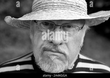 Man with a beard - Stock Photo