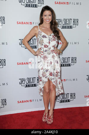 14 October 2019 - Hollywood, California -Shannon Elizabeth. Premiere of Saban Films' 'Jay & Silent Bob Reboot' held at TCL Chinese Theatre. Photo Credit: PMA/AdMedia /MediaPunch - Stock Photo
