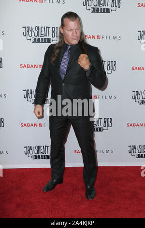 Hollywood, California, USA. 14th Oct 2019. 14 October 2019 - Hollywood, California - Chris Jericho. Premiere of Saban Films' 'Jay & Silent Bob Reboot' held at TCL Chinese Theatre. Photo Credit: PMA/AdMedia /MediaPunch Credit: MediaPunch Inc/Alamy Live News - Stock Photo