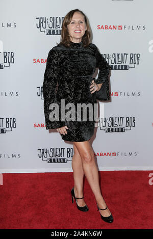 Hollywood, California, USA. 14th Oct 2019. 14 October 2019 - Hollywood, California - Molly Shannon. Premiere of Saban Films' 'Jay & Silent Bob Reboot' held at TCL Chinese Theatre. Photo Credit: PMA/AdMedia /MediaPunch Credit: MediaPunch Inc/Alamy Live News - Stock Photo