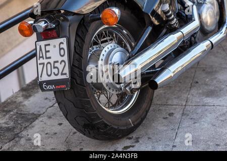 Chopper motorbike #2 - Stock Photo