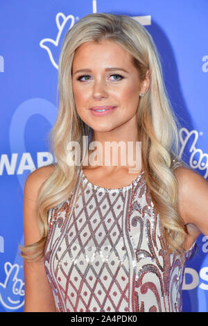 London, UK. 15th Oct, 2019. BBC1's National Lottery Awards 2019 at BBC Television Centre, 101 Wood Lane, on 15 October 2019, London, UK. Credit: Picture Capital/Alamy Live News - Stock Photo