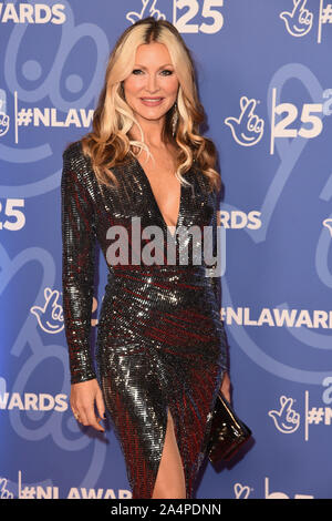 London, UK. 15th Oct, 2019. LONDON, UK. October 15, 2019: Caprice at the National Lottery Awards 2019, London. Picture: Steve Vas/Featureflash Credit: Paul Smith/Alamy Live News - Stock Photo