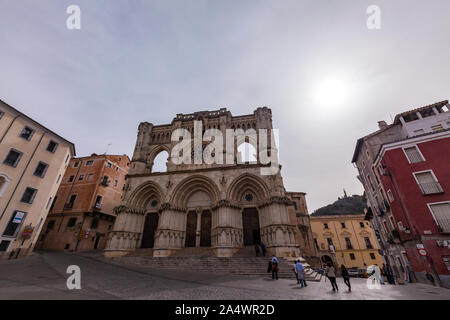 Cuenca Cathedral, Cuenca, Castille La Mancha, Spain - Stock Photo