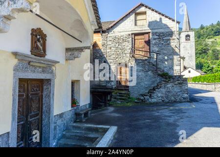 Italy, Piedmont, Crodo - Stock Photo