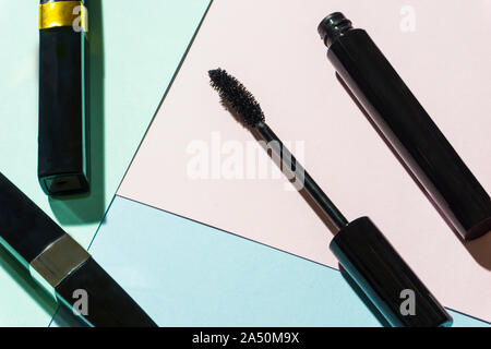 mascara product shot whtie background - Stock Photo