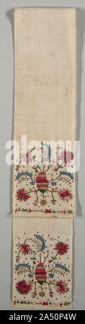 "Embroidered Sash (""Uckur""), 19th century. - Stock Photo"