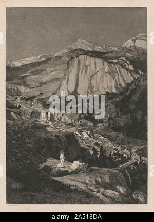 Intermezzo: Moonlit Night (Opus IV, 5), 1881. - Stock Photo