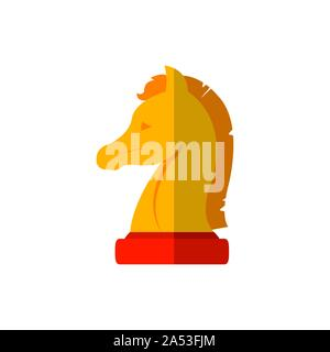 Chess design, Piece game strategy competition leisure hobby play theme Vector illustration - Stock Photo