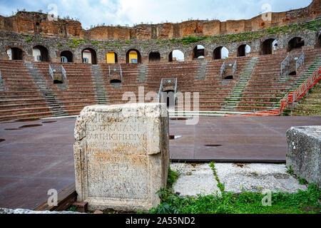 Roman Theater in Benevento - Stock Photo