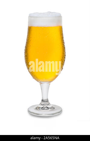 Full Belgium Ale with Condensation #3. - Stock Photo