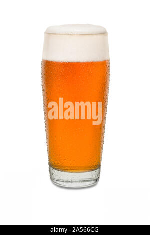 Sweated Craft Pub Beer Glass #1. - Stock Photo