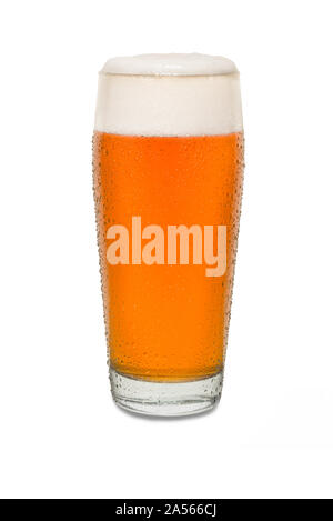 Sweated Craft Pub Beer Glass #2. - Stock Photo