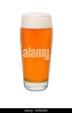 Sweated Craft Pub Beer Glass #4. - Stock Photo