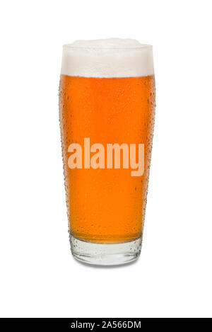 Sweated Craft Pub Beer Glass #6. - Stock Photo