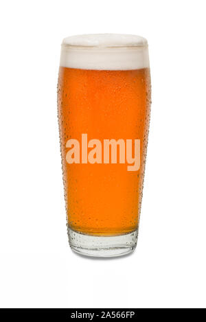Sweated Craft Pub Beer Glass #8. - Stock Photo