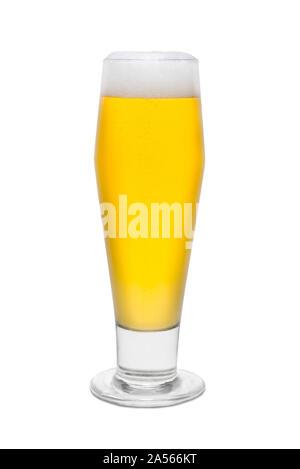 Classic Pilsner Beer, with Foam Head #2. - Stock Photo