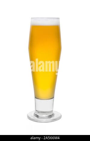 Classic Pilsner Beer, with Foam top #2. - Stock Photo