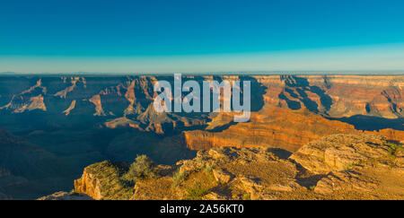 Sunset at Point Sublime, Grand Canyon National Park, AZ. - Stock Photo