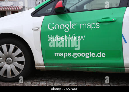 Camera car from Google maps, street view.Photo Jeppe Gustafsson - Stock Photo