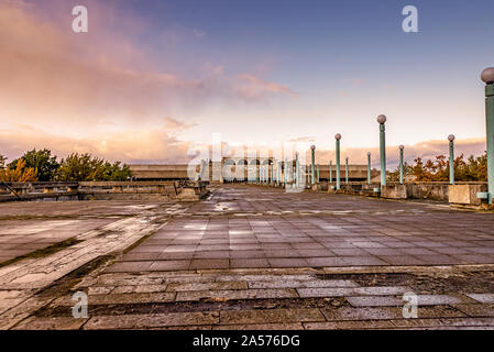 Building Linnahall in Tallinn Estonia - Stock Photo