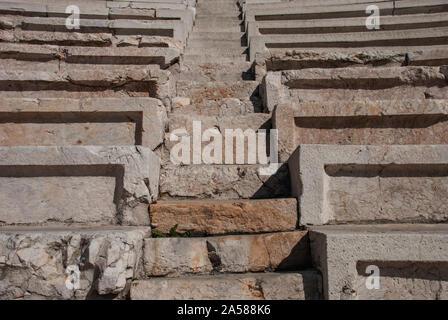 Ancient Theatre of Philippopolis (Roman Theatre) in Plovdiv, Bulgaria - Stock Photo