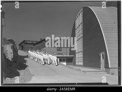 U.S. Coast Guard Academy, Reserve Cadet Buildings, New London, Connecticut. - Stock Photo