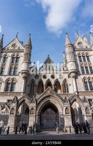 The Royal Courts of Justice, London City