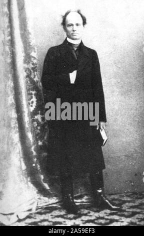 Croatian politician Josip Juraj Strossmayer 19th century - Stock Photo