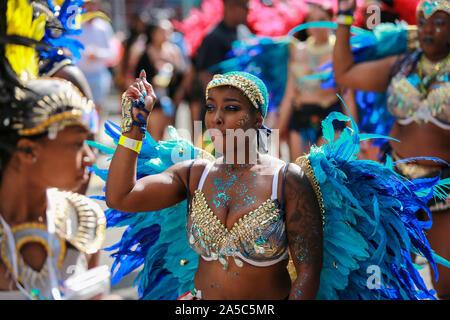 Hackney, London, UK. 08th Sep, 2019. Hackney Carnival 2019. Credit: Waldemar Sikora - Stock Photo