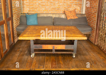 Chairs with soft corners in the shop, please understand. - Stock Photo